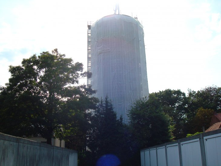 Renovatie watertoren