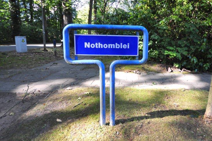 Straatnaambord: Nothomblei