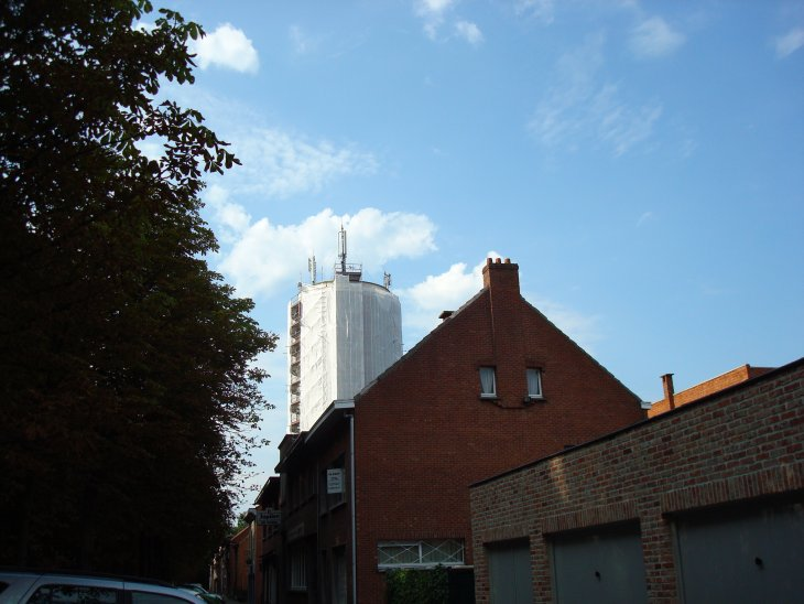 Renovatie watertoren - in de stijgers