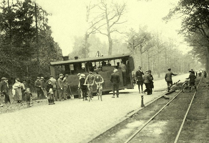 Ontsporing stoomtram (1921)