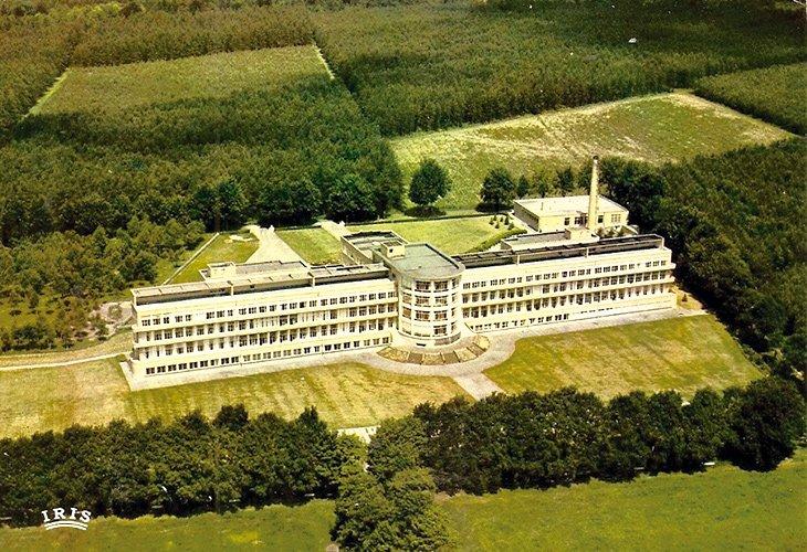 Sanatorium De Mick (luchtopname)