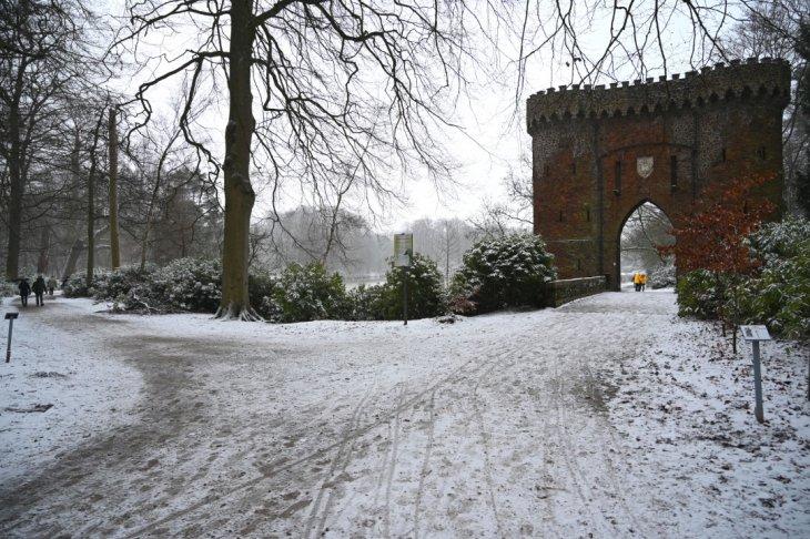 Sneeuw in Maria-ter-Heide