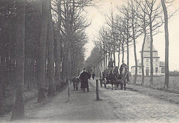 Avenue de la Chapelle et Pavillon du Général