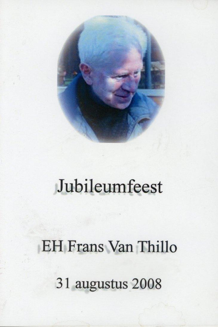 DVD - Frans Van Thillo