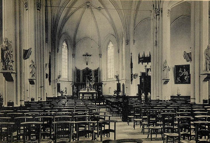 Binnenzicht kerk