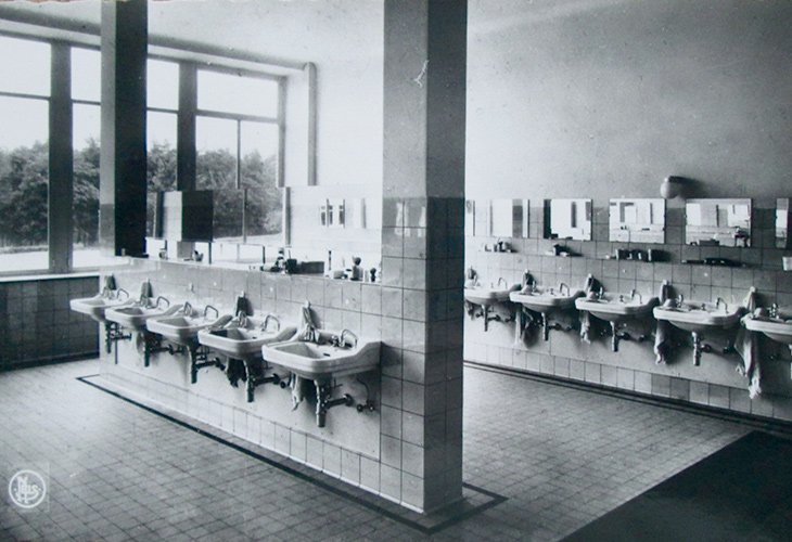 Sanatorium De Mick - waszaal
