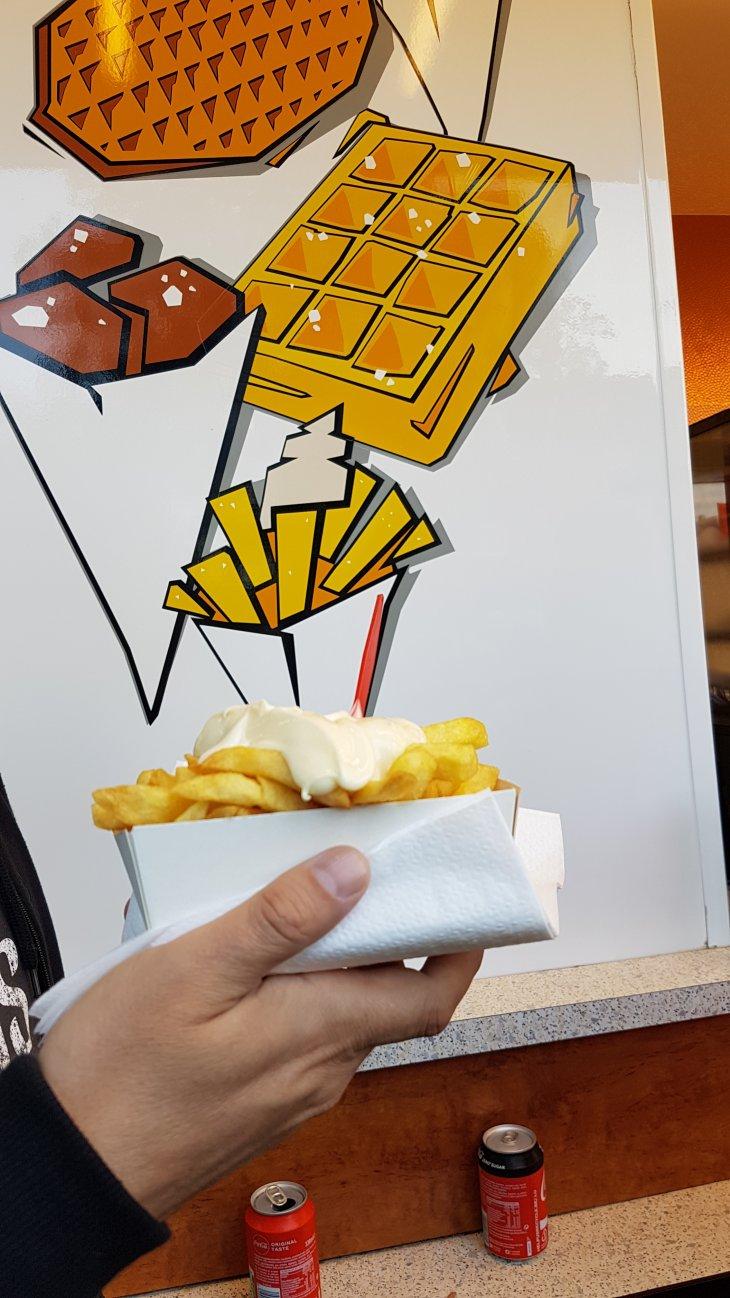 Kermis Kerkedreef - frieten