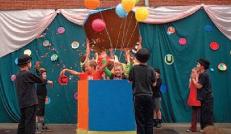 Circus schoolfeest