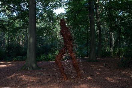 De Woudloper in park De Mik.