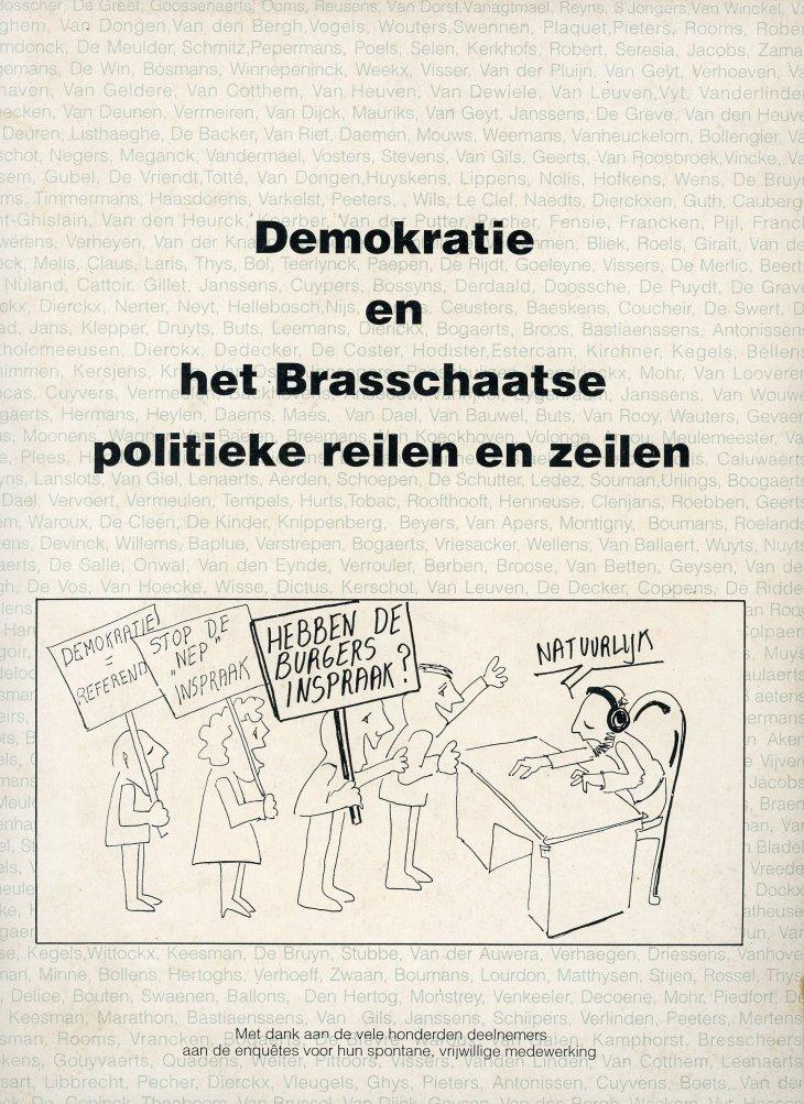 Demokratie en het Brasschaatse politieke reilen en zeilen.